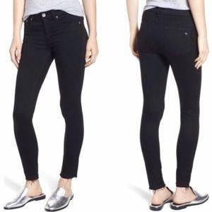 NWT Rag & Bone Black Ankle Skinny Stretch Jeans